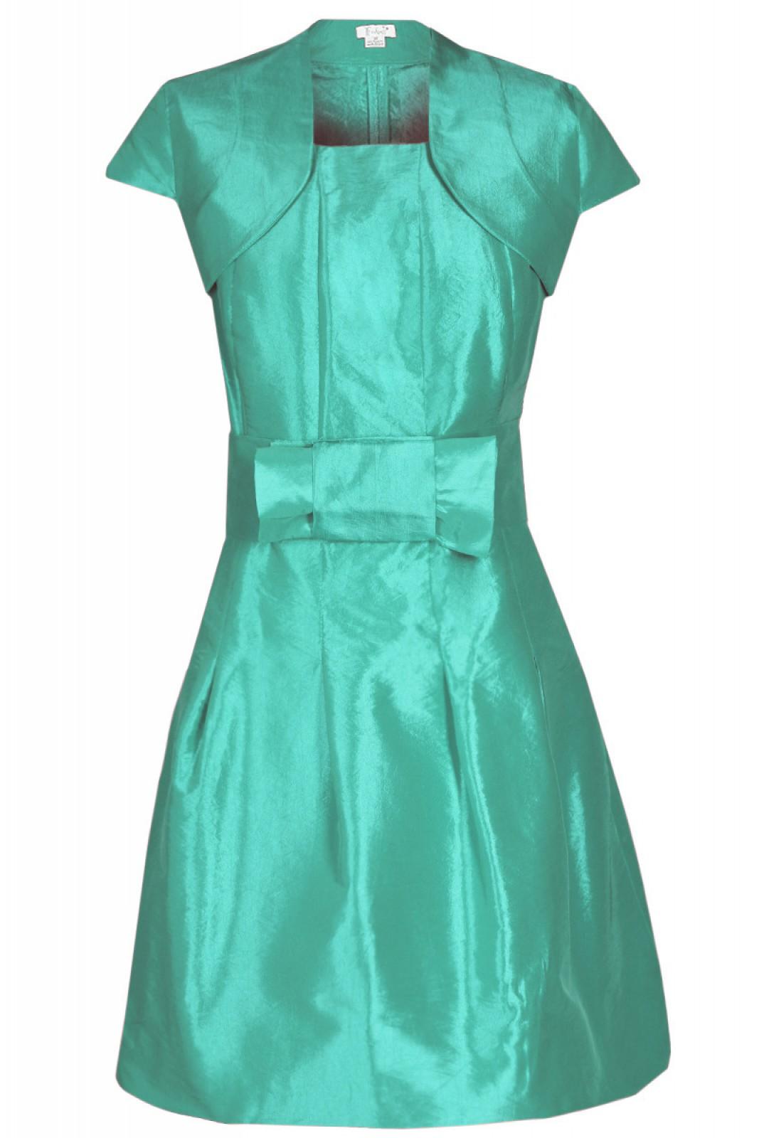 Beste Smaragd Partykleid Zeitgenössisch - Hochzeit Kleid Stile Ideen ...