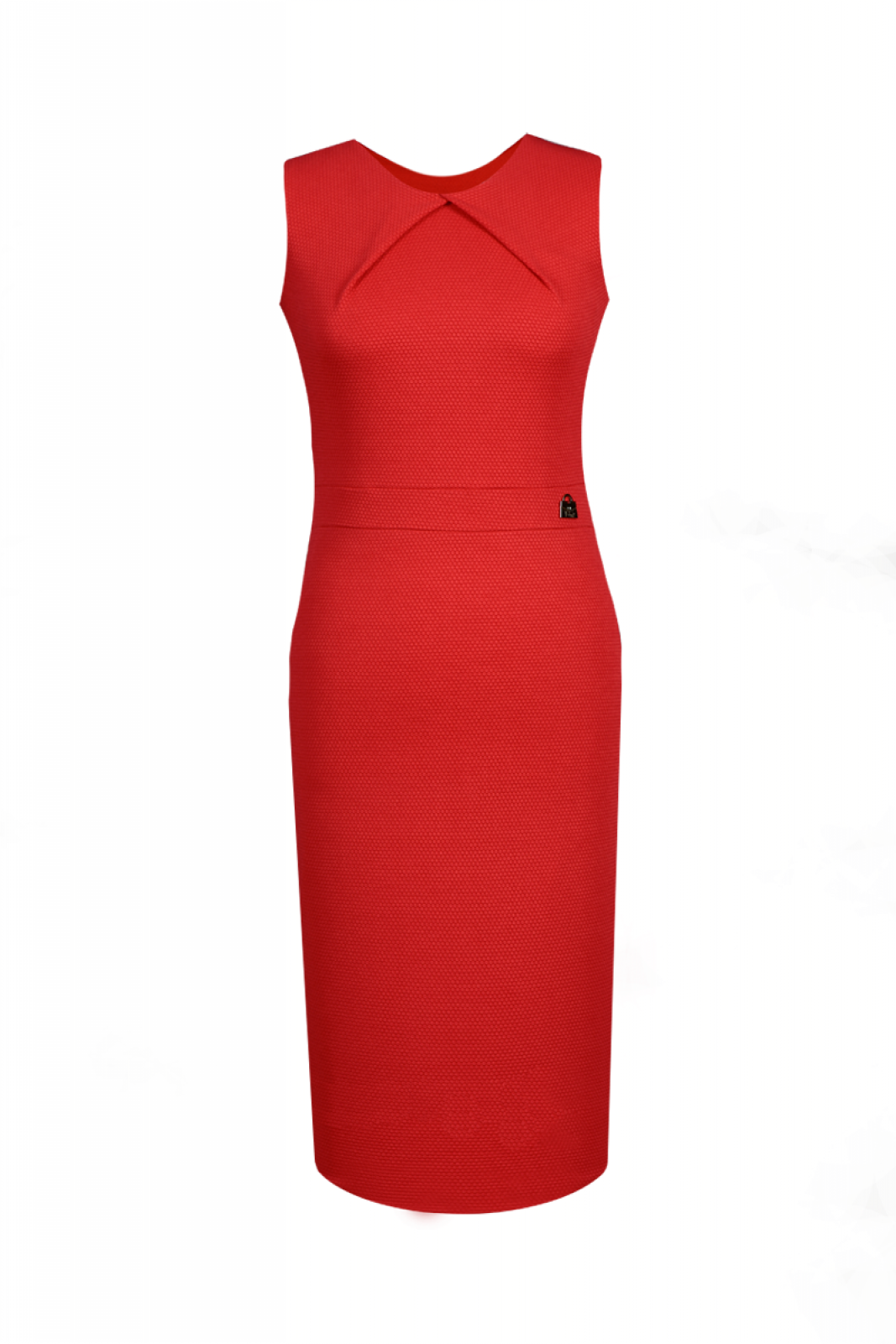 Elegante kleider knielang rot