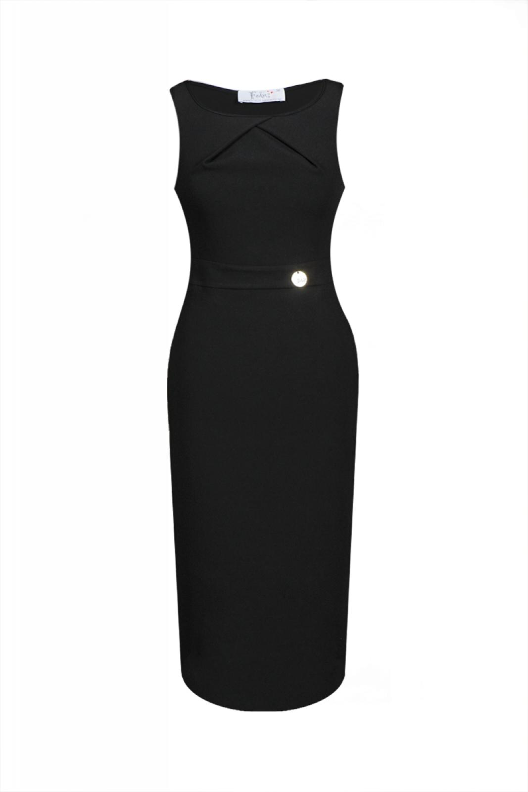 Elegantes cocktailkleid schwarz