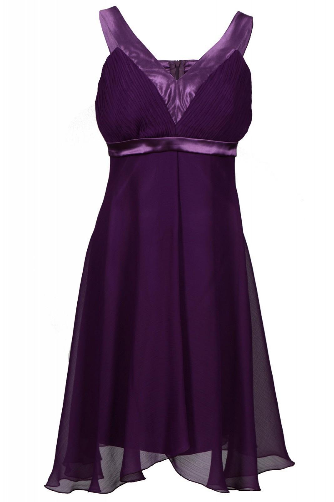 Chiffon kleider lila