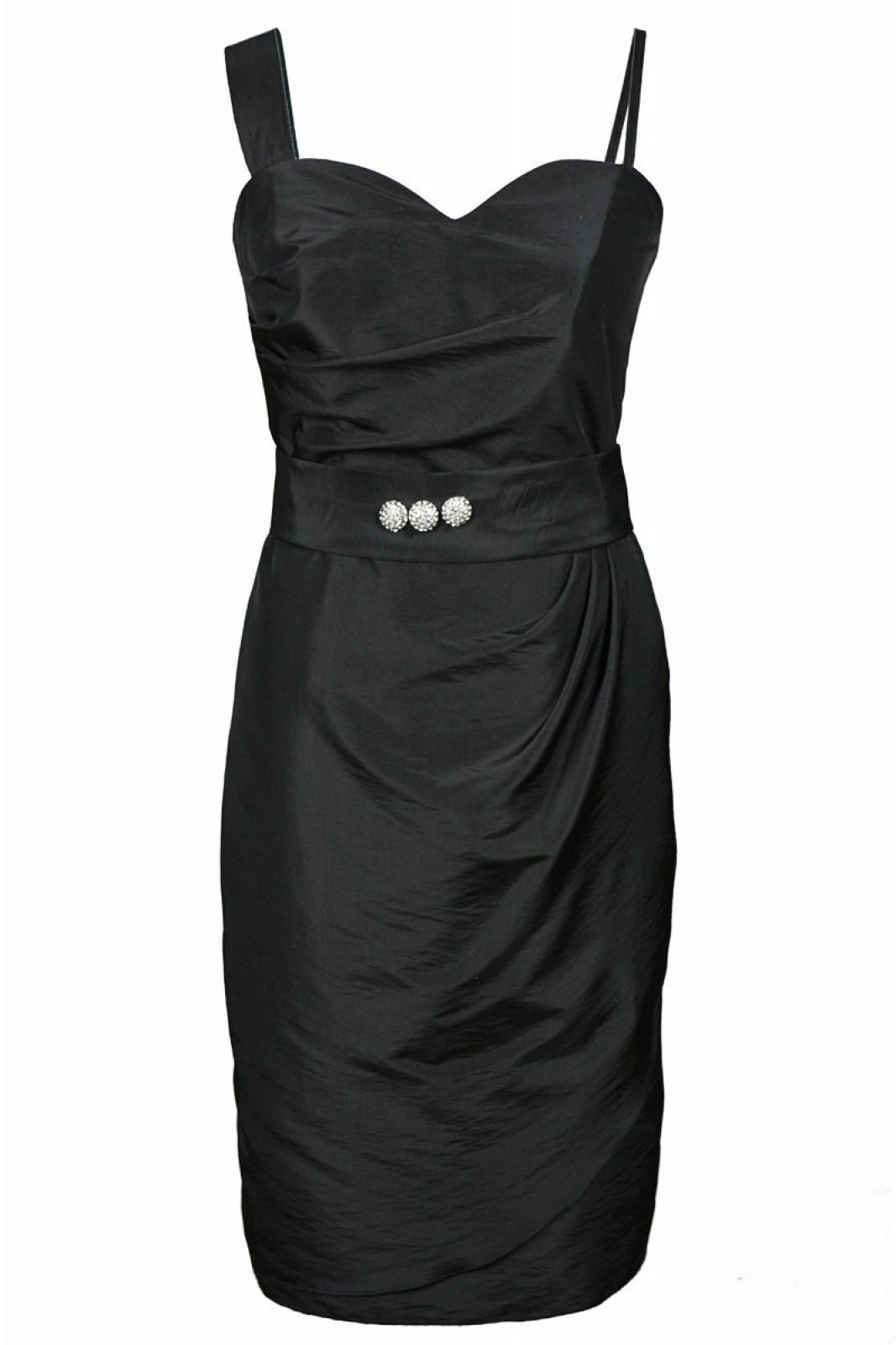 Cocktailkleider schwarz mit Bolero bei kleider-boutique.de online ...
