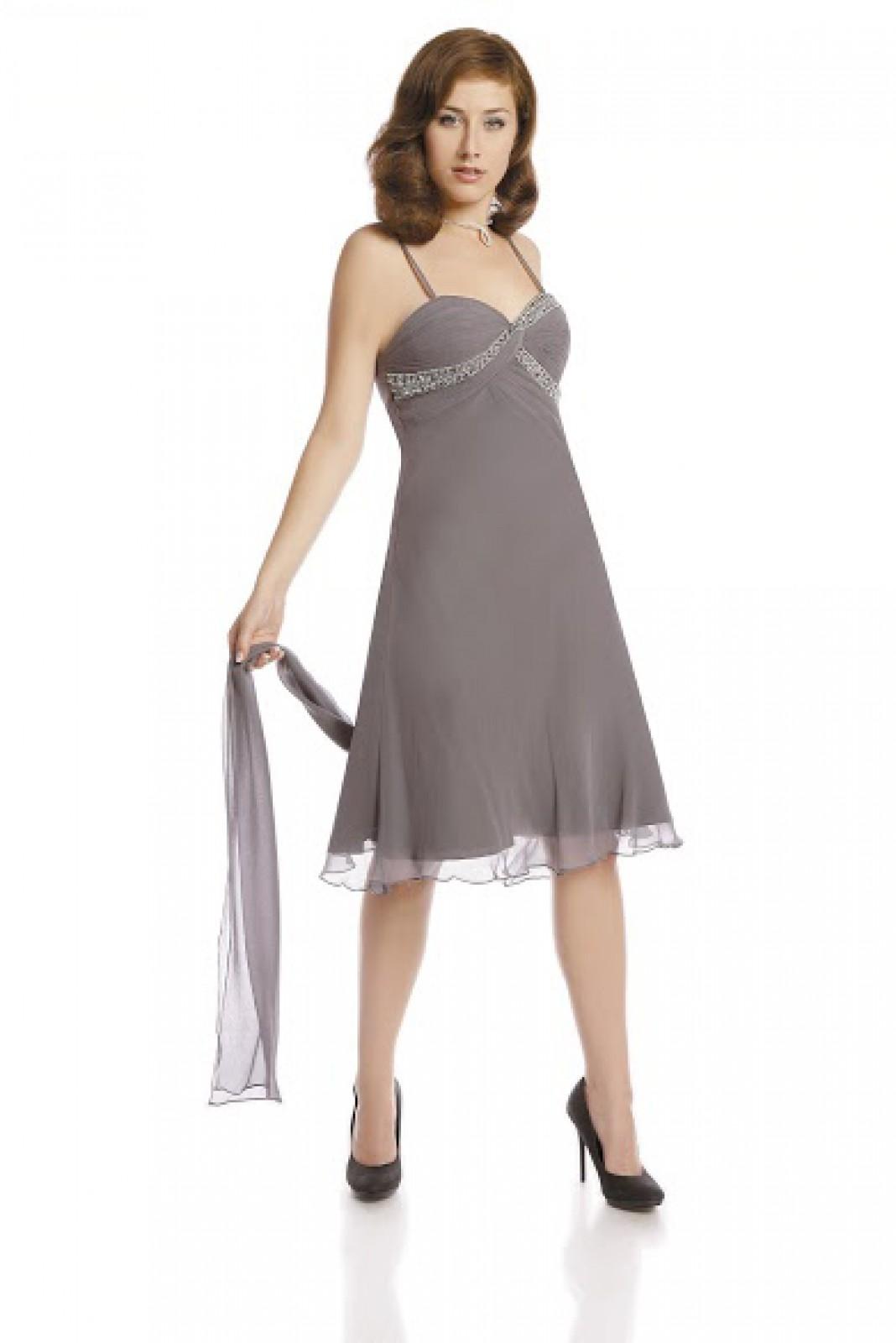Kurze Abendkleider aus Seide in A-Linie bei kleider-boutique.de - ...