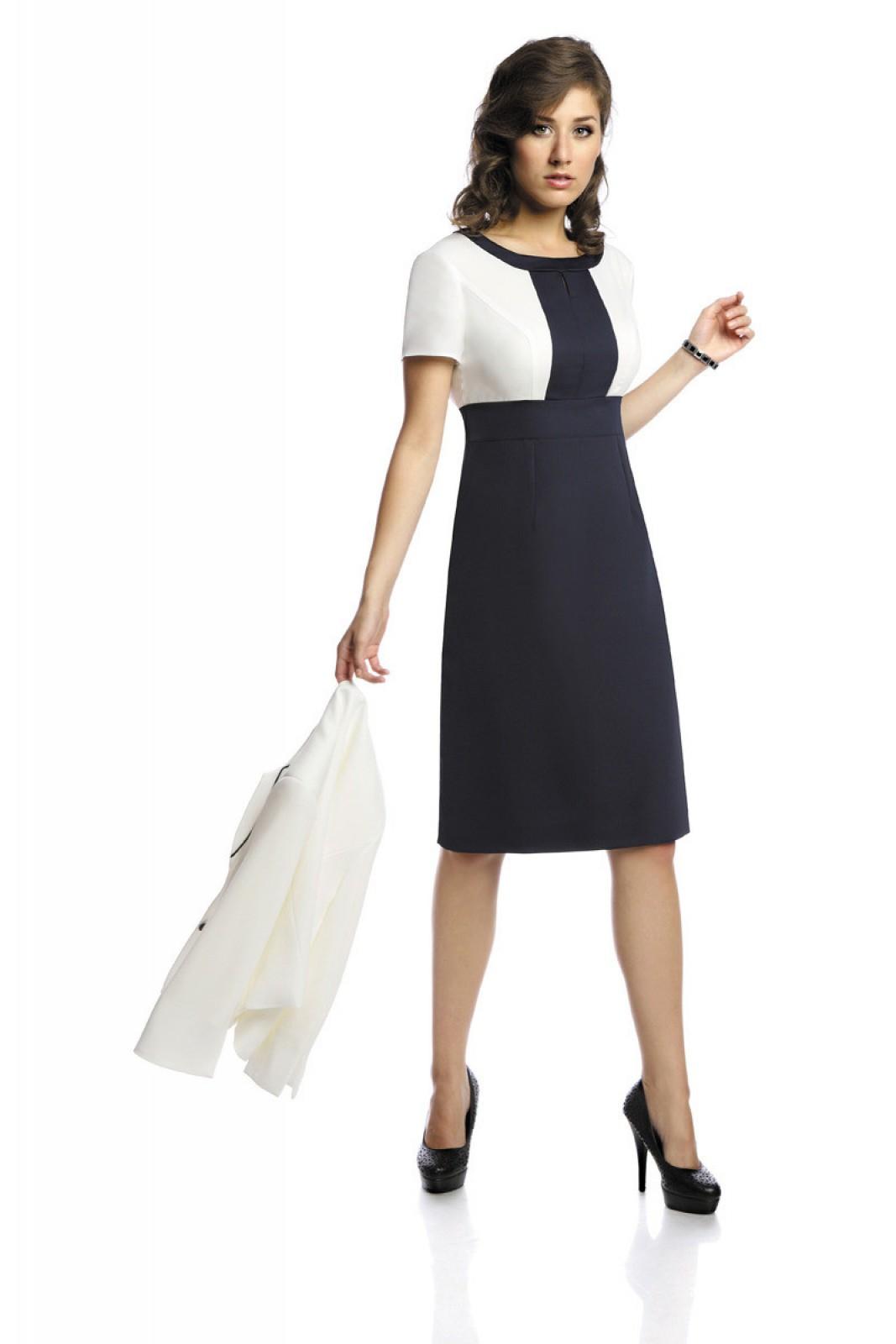 Business-Kleid mit Jacke aus elastischem Misch-Gewebe in ...