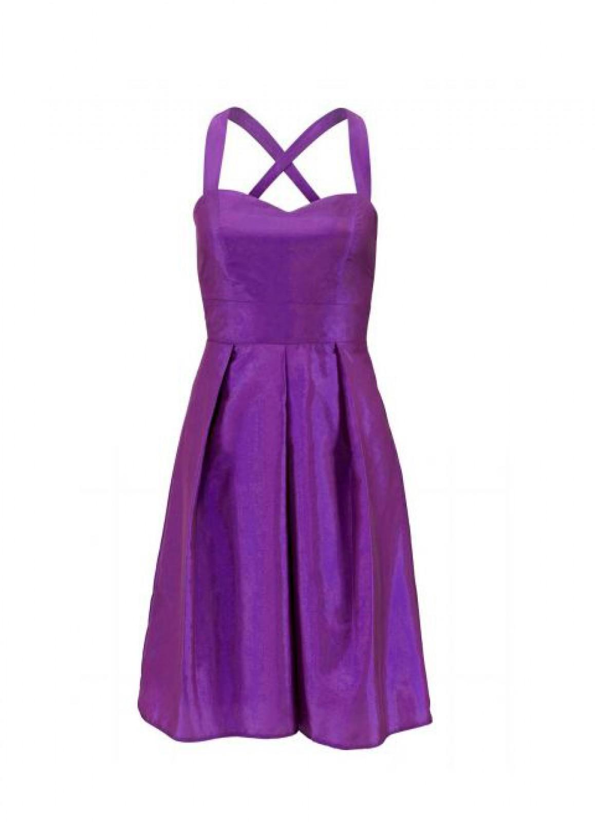 Changeant-Kleid - das kurze Partykleid mit zartem Glanz - ...
