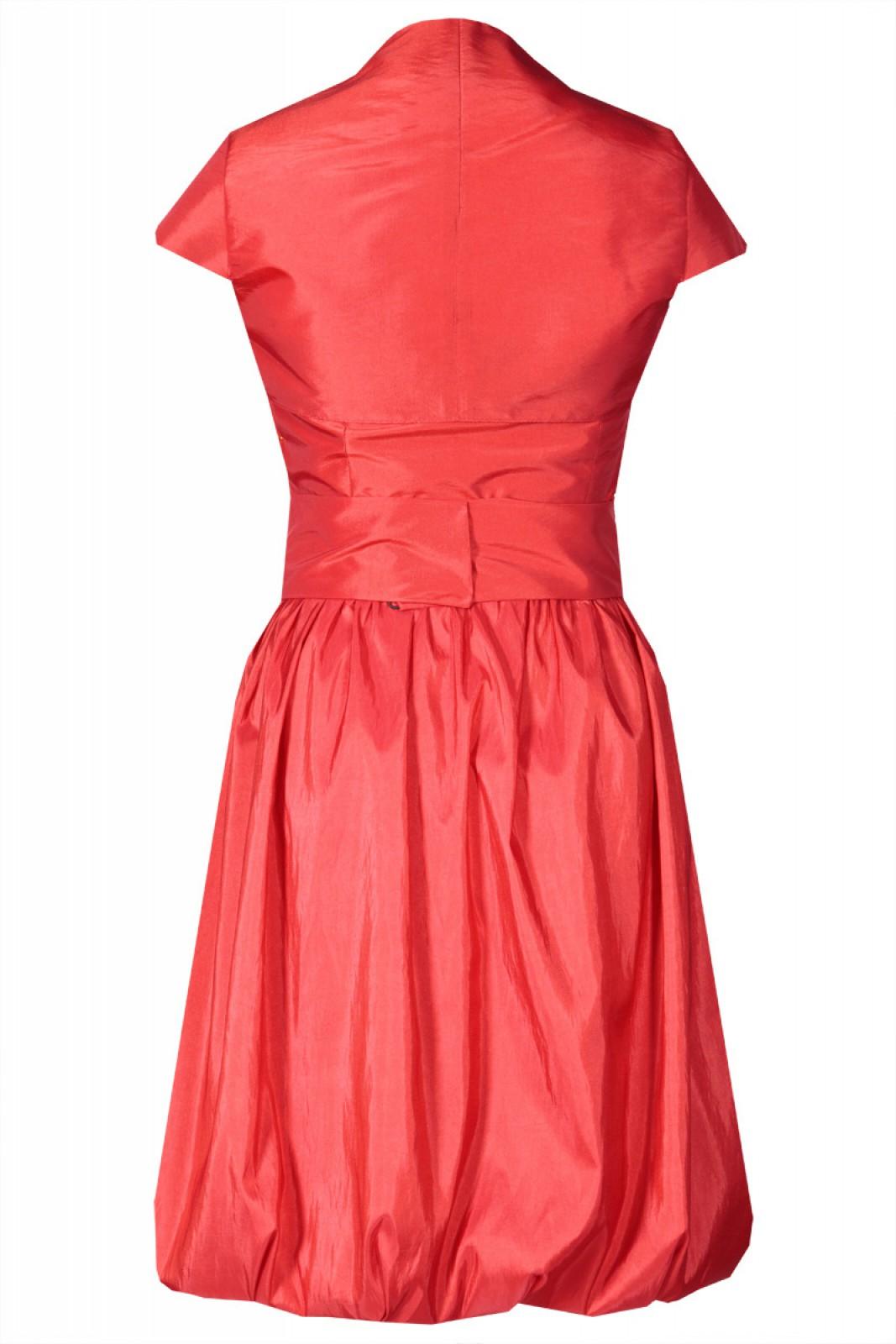 Cocktailkleid in Ballonform rot bei kleider-boutique.de - ...