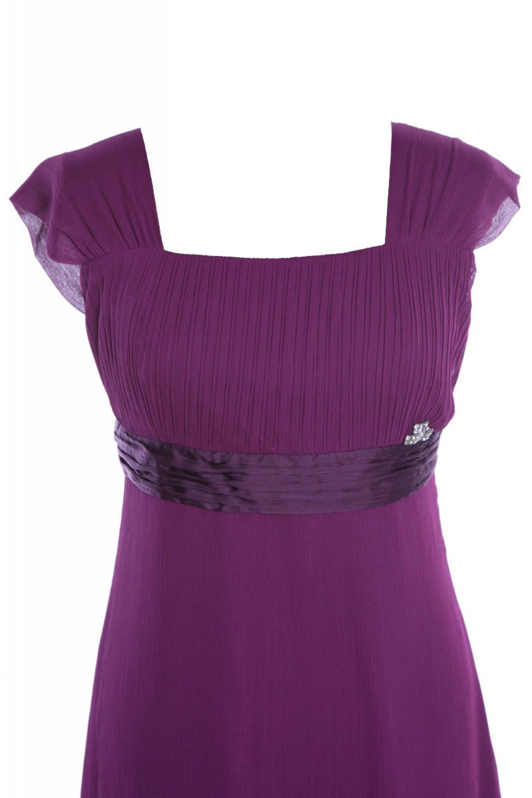 Chiffon kleid violett – Beliebte Kleidermodelle 2018