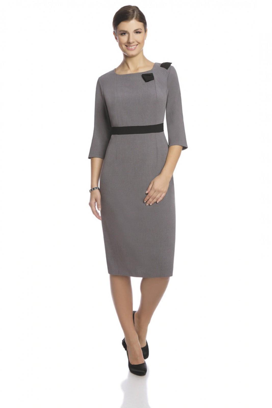 Klassisch Elegantes Businesskleid Für Geschäftsfrauen In