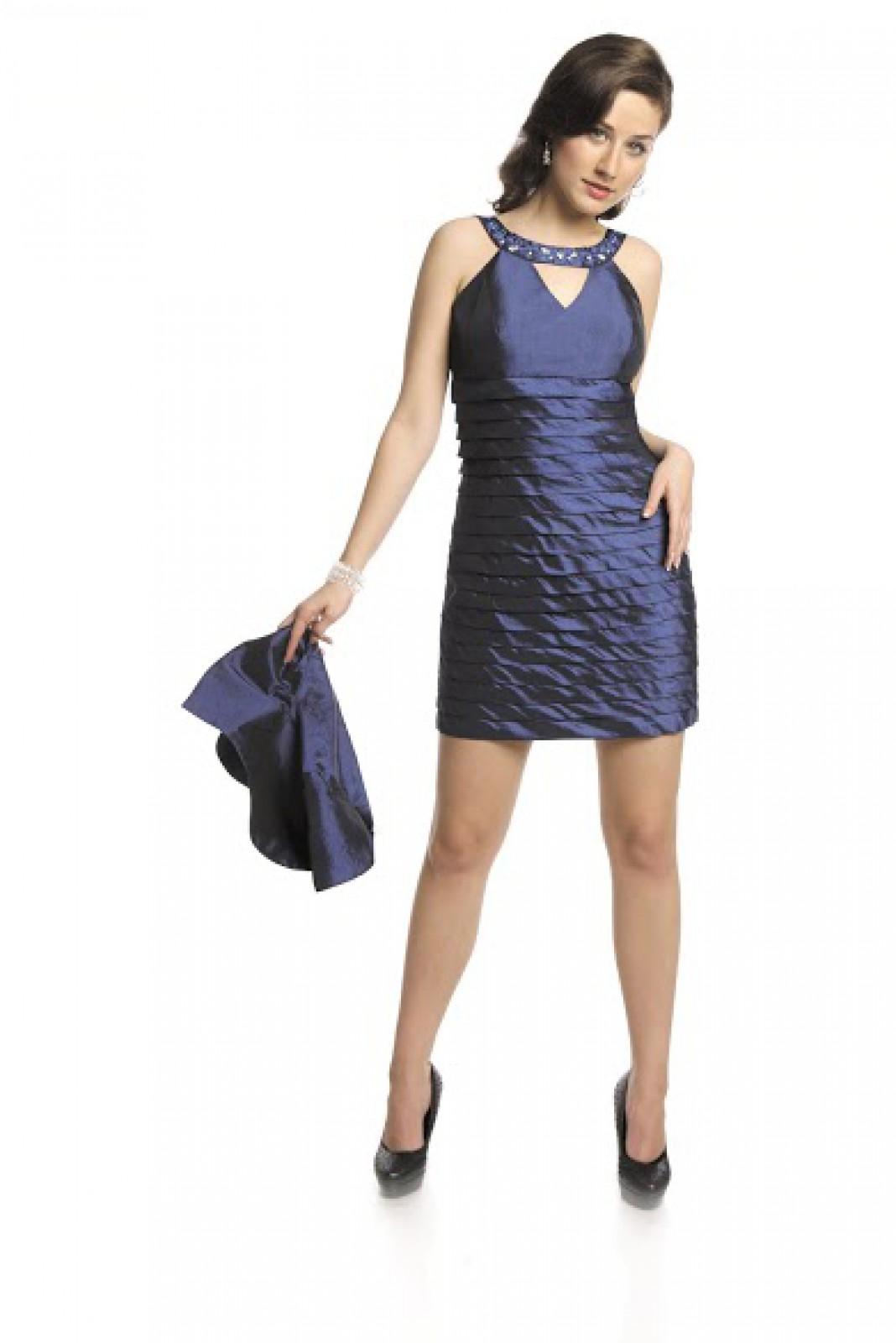 Sexy Minikleider in Blau bei kleider-boutique.de online kaufen - ...