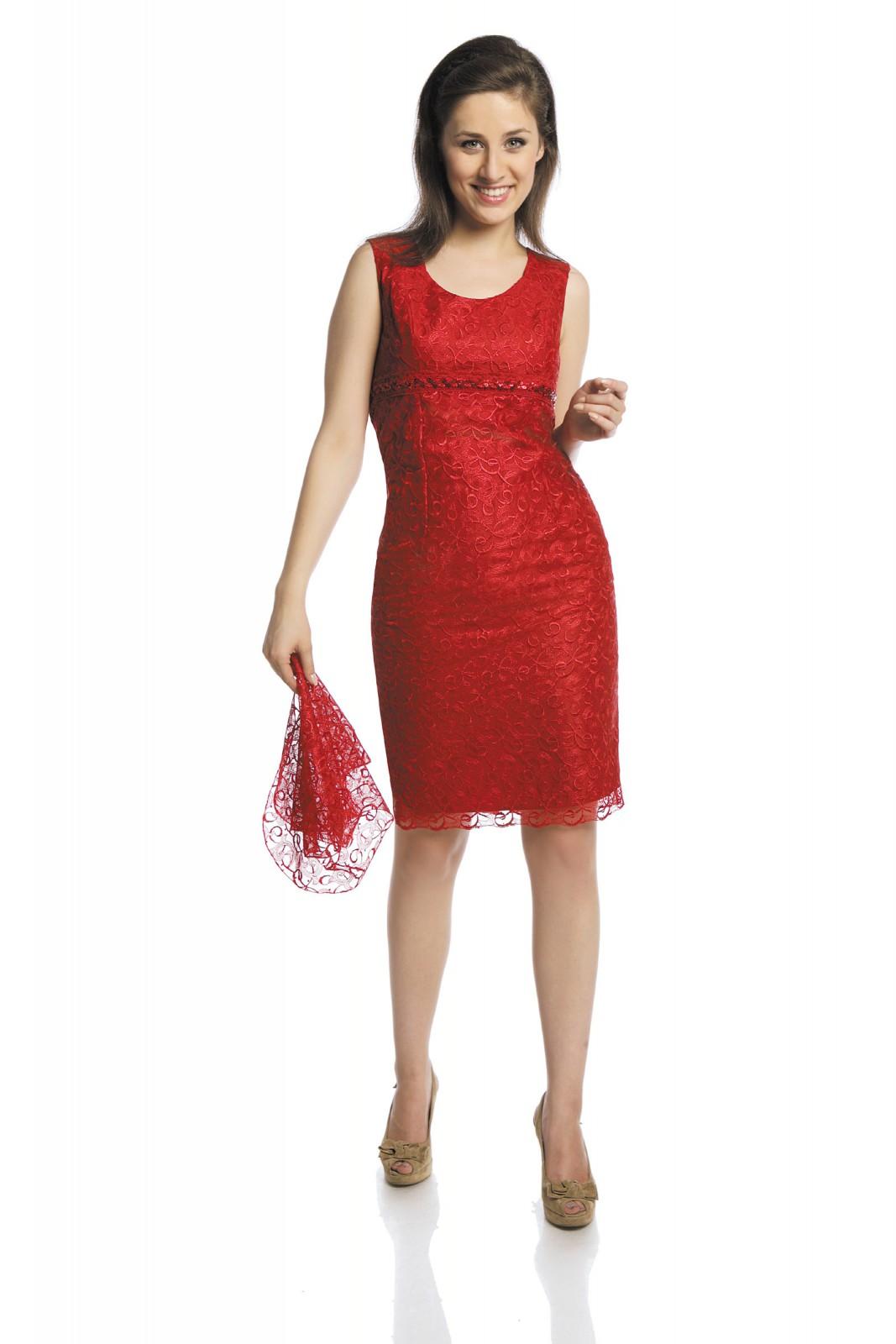 Rotes cocktailkleid kombinieren - Stylische Kleider für ...