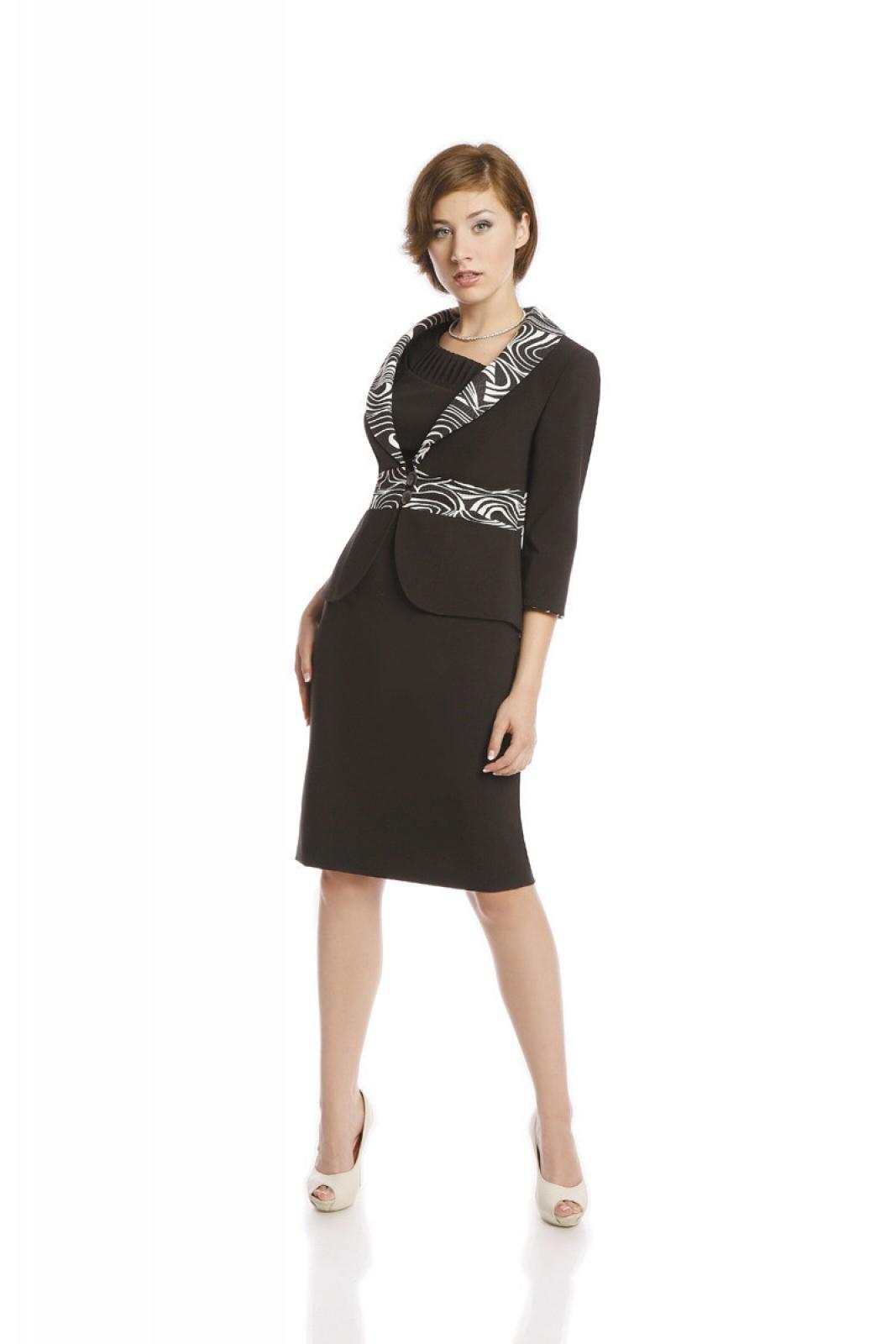Zweiteiliges Cocktailkleid bestehend aus Kleid und Blazer - ...